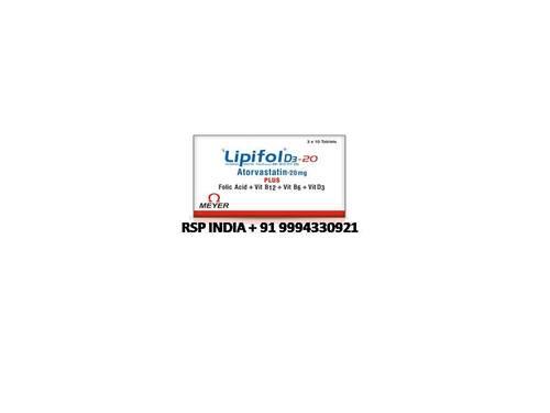 Lipifol D3 20mg Tablets