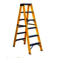 Fiberglass Step Tristle Ladder 8feet FM1008