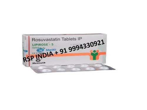 Lipirose 5mg Tablets