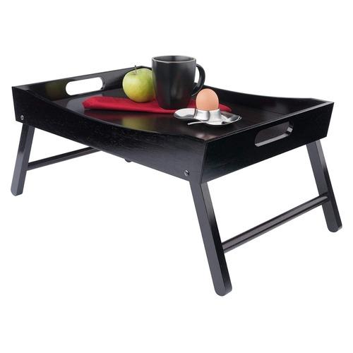 Wooden Breakfast Table Dark Finish