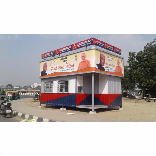 Prefab Police Booth Cabin