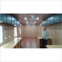 Office Container With Workstation