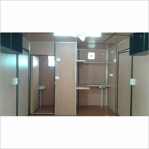 Office Container With Toilet and Pantry