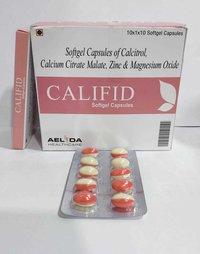 Calcitriol  Calcium Zinc Oxide Softgel Capsules