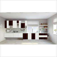 Straight UPVC Modular Kitchen