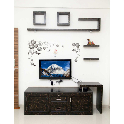 Wall Mounted UPVC T.V. Cabinet