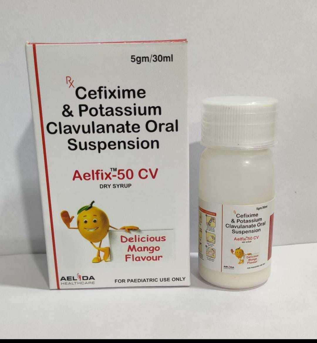 Cefixime Oral Suspension I.p