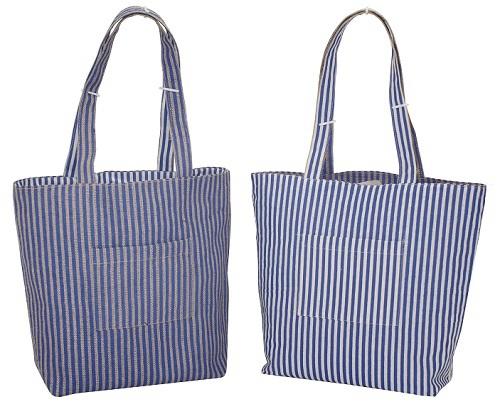 Reversible Handle Cotton Tote Bag