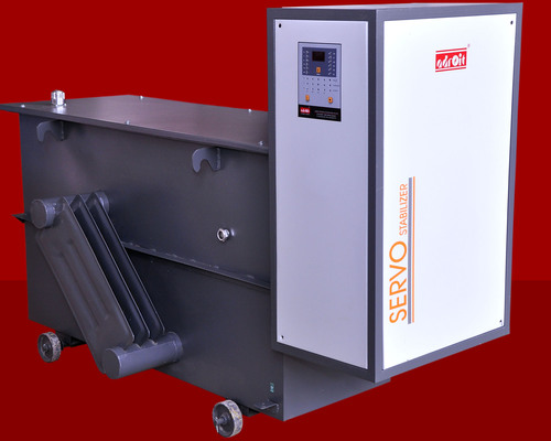 Trichy CNC 100 KVA Three Phase Oil Cooled Servo Stabilizer