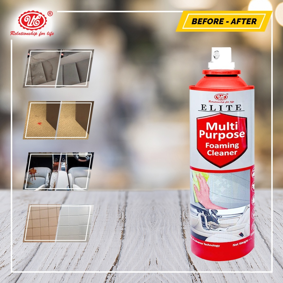 Ue Multipurpose Foaming Cleaner/bubble Cleaner
