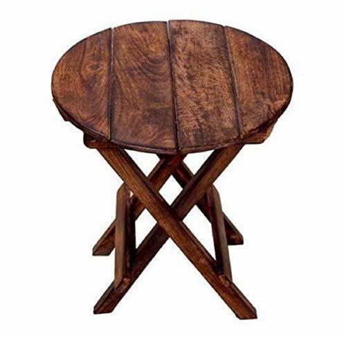 Beautiful Wooden Folding Side Table