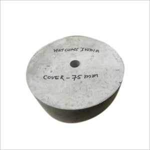 75 MM Round Concrete Cover Block