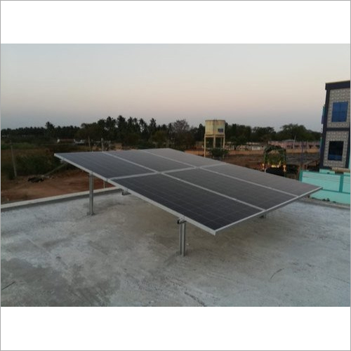 2 Kw On Grid Solar Power Plant