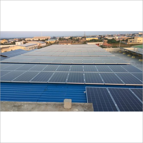 100 Kw On Grid Solar Power Plant