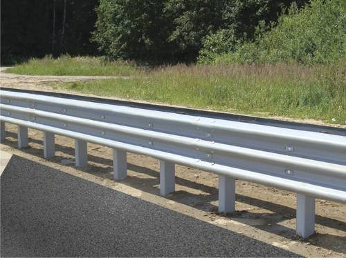 W Beam Road Barrier