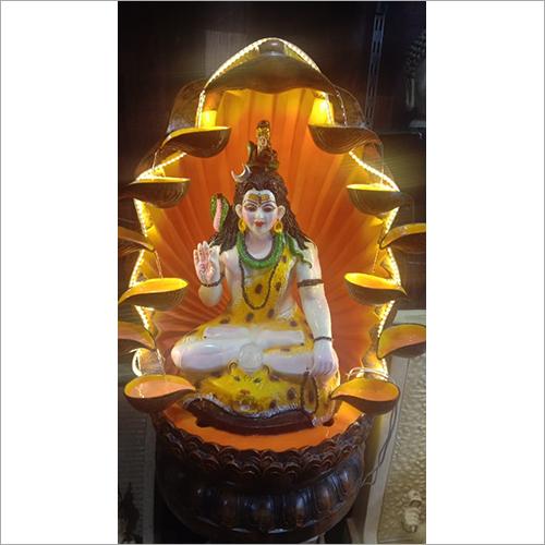 Shiva Statue Incense Fountain