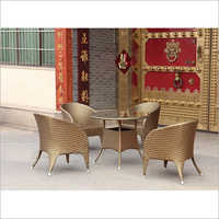4 Seater Round Table Furniture Set