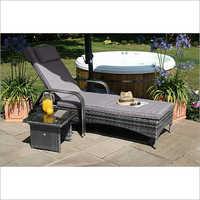 Outdoor Garden Lounge Bed Set