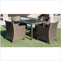 4 Chair Sofa Set Outdoor Garden Furniture