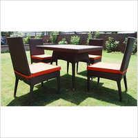 4 Chair Sofa Set Garden Furniture