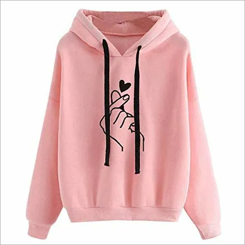 Ladies Printed Hoodies