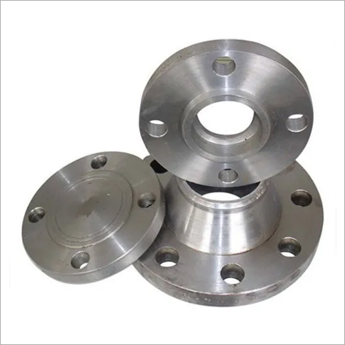 Chrome Round Welded End Flange