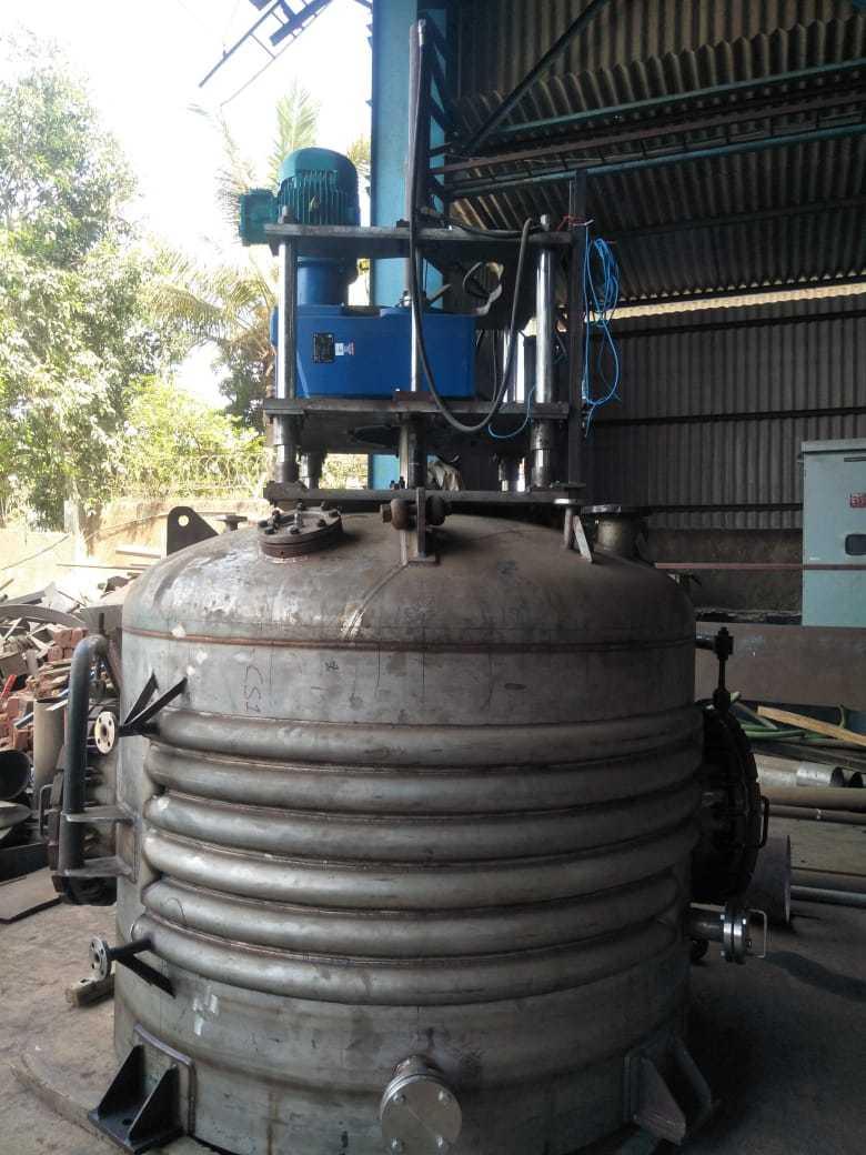 Agitated Nutsche Filter Dryer Body