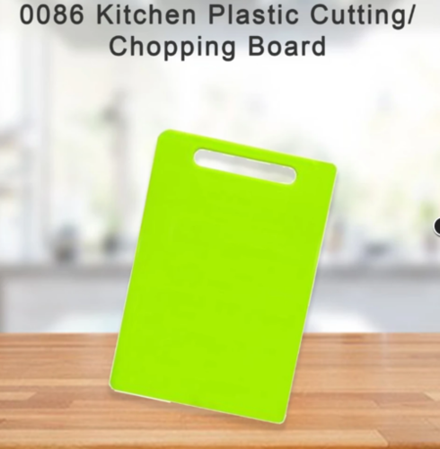 Kitchen Plastic Cutting And Chopping Board