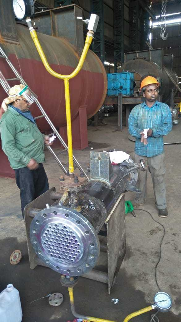 Dome Heat Exchanger