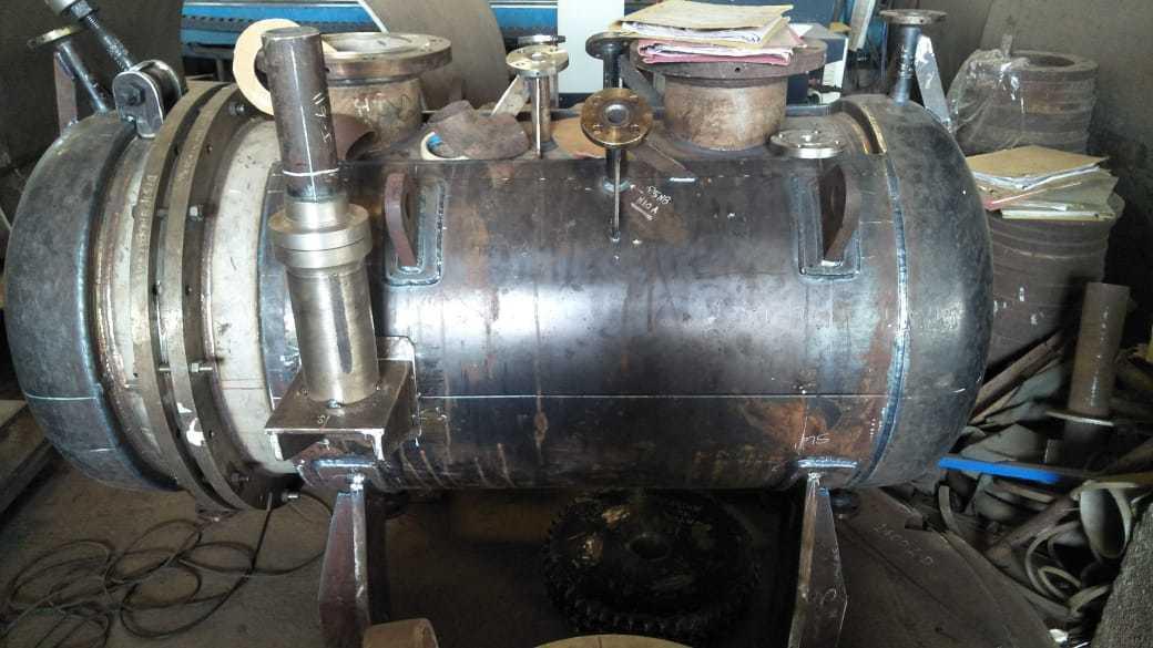 Dryer Body Rotary Vacuum Paddle
