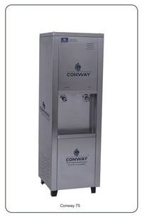 CONWAY P 75 STAINLESS STEEL WATER PURIFIER CUM DISPENSER - NORMAL AND COLD.