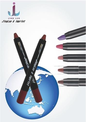 JingLuo & Imprint Rotating Lipstick Pen Waterproof Non-stick Cup (red bean paste)
