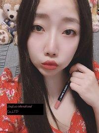 JingLuo & Imprint Rotating Lipstick Pen Waterproof Non-stick Cup (Dry Rose Powder)