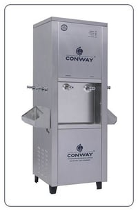 CONWAY P 250 STAINLESS STEEL COMMERCIAL PURIFIER CUM DISPENSER - NORMAL & COLD