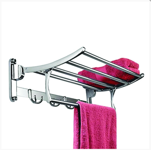 Stainless Steel Folding Rack Cum Towel Bar