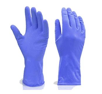 Heavy Reusable Rubber Hand Gloves