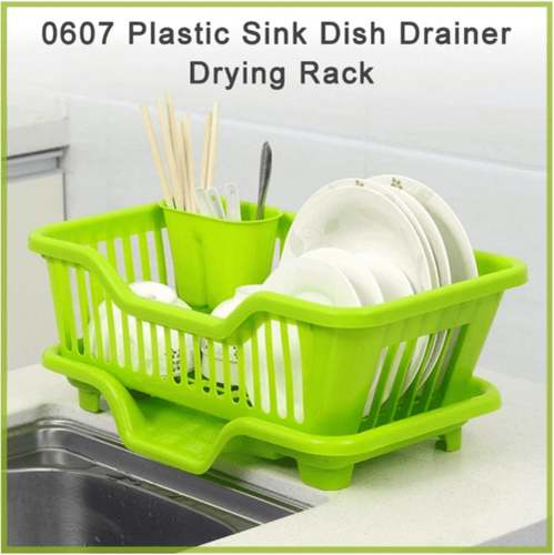 Plastic Sink Dish Drainer Drying Rack