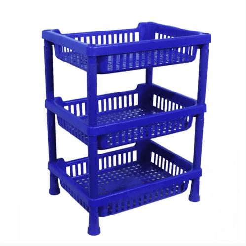 Multipurpose Plastic Storage Rack Oraganiser