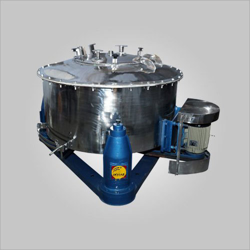 SS Four Point Manual Top Discharge Centrifuge