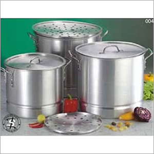 Aluminiun Steamer Stock Pot