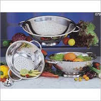 Stainless Steel Regular Colander