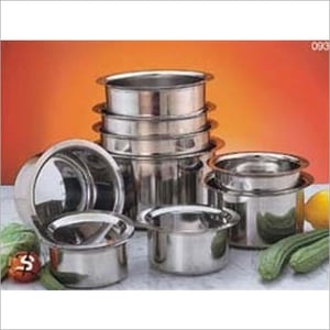 Stainless Steel Indian Cooking Pot