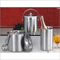 Stainless Steel Elegant Ice Bucket Chiller