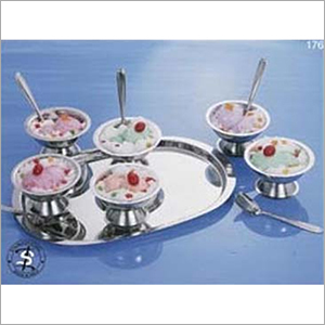 Stainless Steel Ice Cream Set