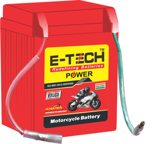 ERC E-TECH POWER 3LC Kick Start Motorcycle