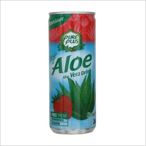 Strawberry Aloe Vera Drink