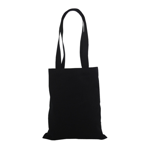12 Oz Dyed Cotton Canvas Tote Bag With Long Handle