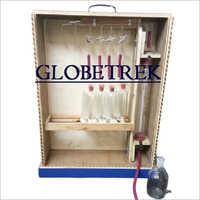 4 Test Type Orsat Gas Apparatus