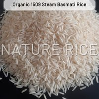 Organic 1509 Steam Basmati Rice