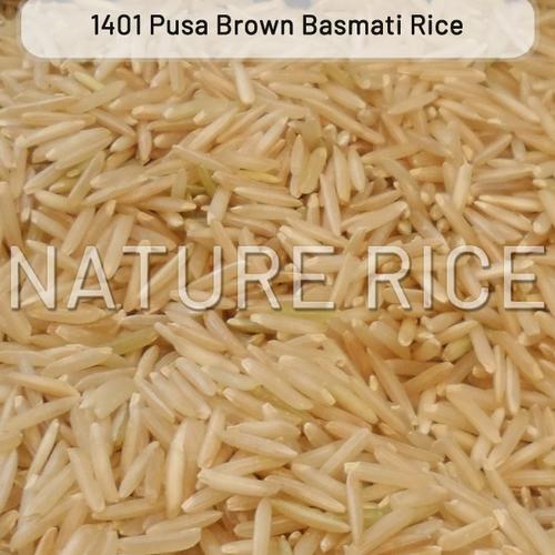 Pusa 1401 Brown Raw Basmati Rice